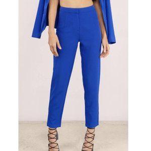 Tobi Colbalt Blue Cigarette Trouser Pants - EUC